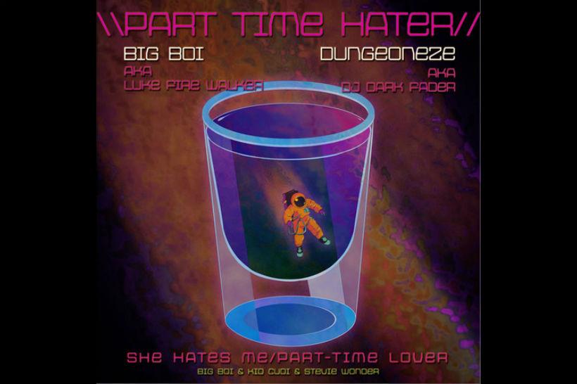 Big Boi Kid Cudi Stevie Wonder 'Part Time Hater'