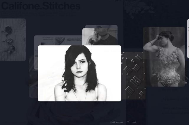 Califone Stitches interactive video tumblr Gifs