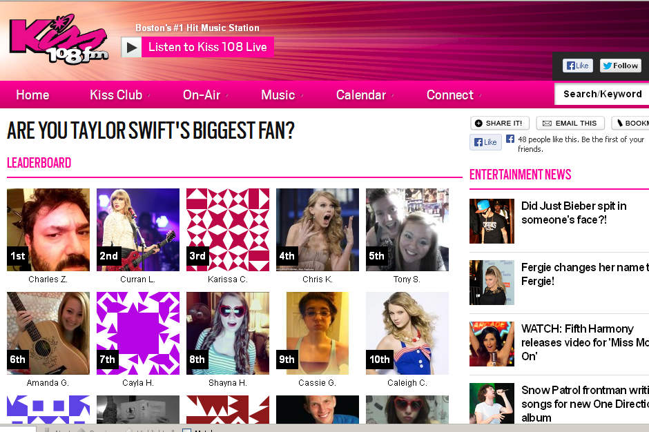 'Meet Taylor Swift' Contest Greatly Underestimates the Power of Internet Trolls