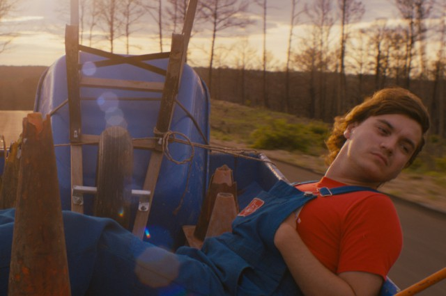 Emile Hirsch in 'Prince Avalanche'