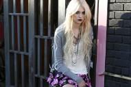 Taylor Momsen Models Madonna's Fashions