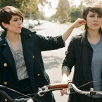 Exclusive: Tegan and Sara's SPIN Shoot!