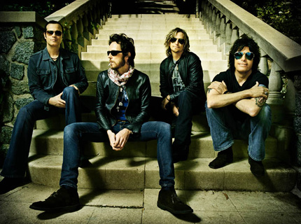 Stone Temple Pilots Map Spring/Summer Tour