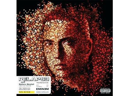 eminem�s album cover high on pills spin