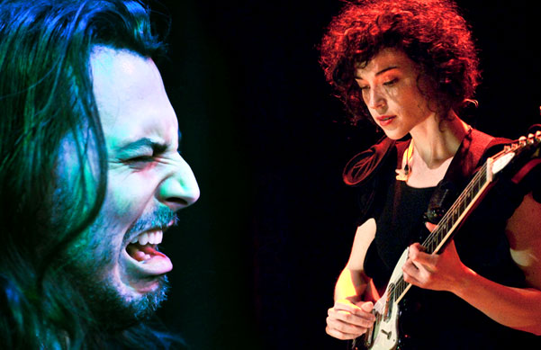 Andrew W.K. and St. Vincent