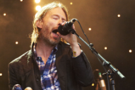 Thom Yorke Plays Occupy London Gig