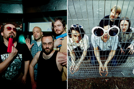 First Spin: Stream Torche and Part Chimp's Split EP | SPIN