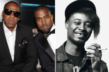 (Photo: Johnny Nunez/Getty, Jay/Kanye; J.R. Mankoff, Danny Brown)
