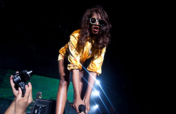 M.I.A. Performs at New York City's Hard Fest