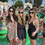 LACOSTE L!VE and HTC Host Coachella Pool Party