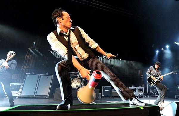 Stone Temple Pilots' frontman Scott Weiland