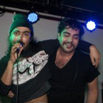 Das Racist, Apache Beat Rock For Charity in NYC