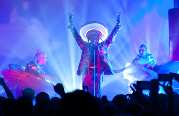Fischerspooner Perform at the Highline Ballroom in NYC