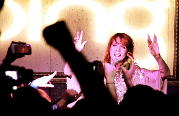 Florence + the Machine Perform at the Bing Bar