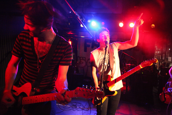 Free the Noise Winners: Reckless Sons Perform at 315 Bowery