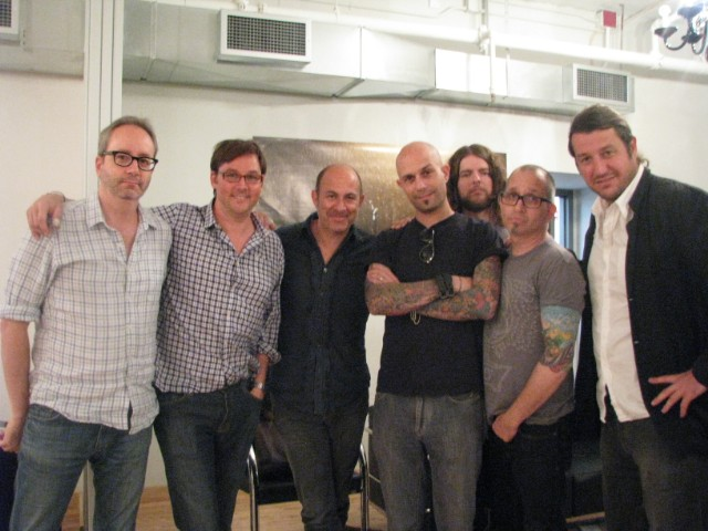 SPIN_Editor_Doug_Brod_Tom_Hartle_John_Varvatos_Victor_Caracappa_Tyler_Ochs__Stephen_Niedzwiecki_and_David_Kuhn_of_SPINearth.tv..JPG