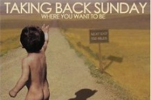 Taking Back Sunday, 'Where You Want to Be' (Victory)