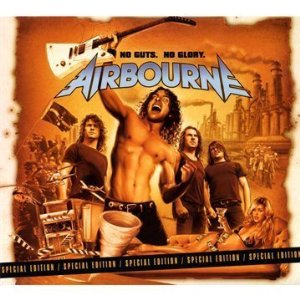 Airbourne, 'No Guts. No Glory.' (Roadrunner)