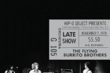 The Flying Burrito Brothers, 'Authorized Bootleg — Fillmore East, New York, NY: Late Show, November 7, 1970′ (Hip-O/A&M)