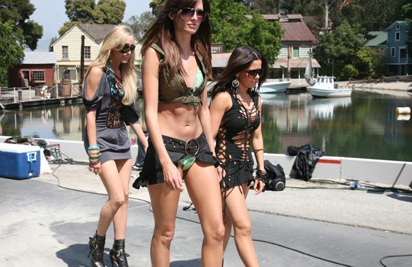 Bikini Girls Invade L.A.!