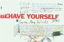 Review: Cold War Kids, 'Behave Yourself'