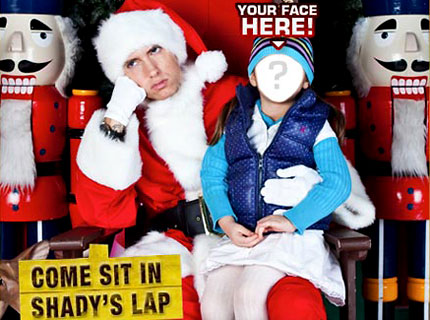 Get Your Xmas Photo with Eminem! | SPIN