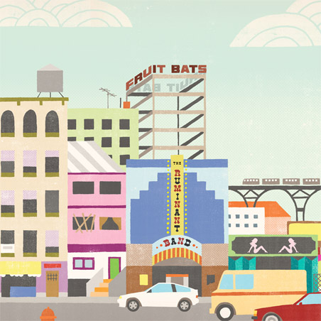 Fruit Bats, 'The Ruminant Band' (Sub Pop)
