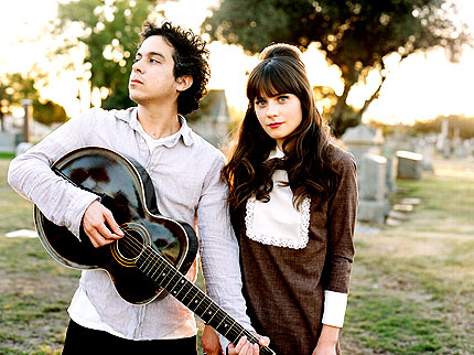 She & Him Plot Few U.S. Gigs
