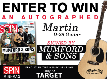 Enter to Win a Mumford & Sons-Signed Martin Guitar! | SPIN