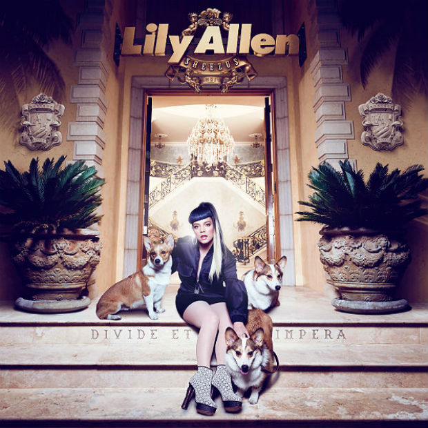Lily Allen Sheezus album cover art