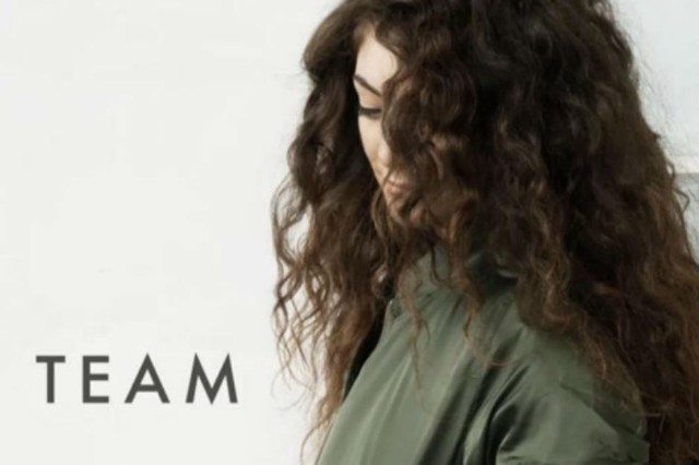 lorde team stream pure heroine single