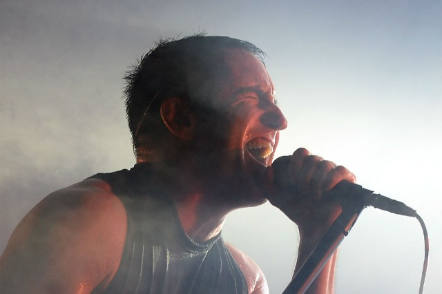 Nine Inch Nails tour touring lineup R&B singers