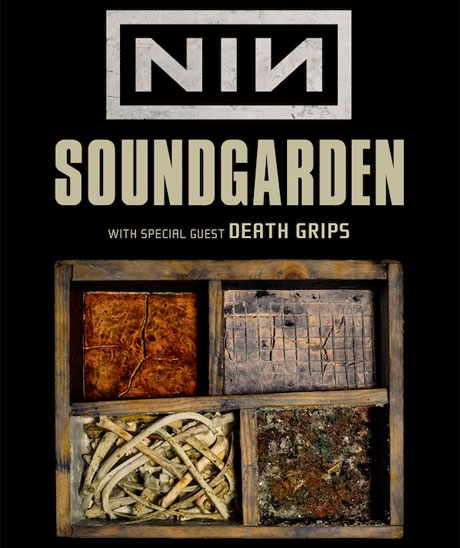 Nine Inch Nails, Soundgarden, Death Grips