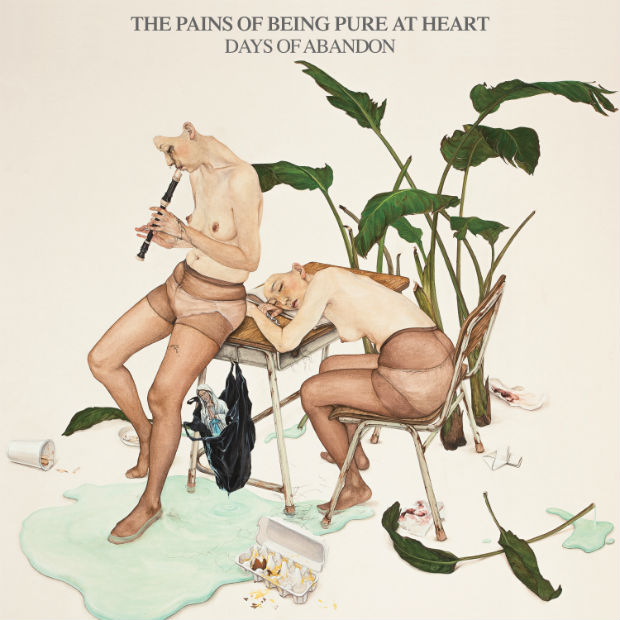 Pains Being Pure at Heart Days of Abandon Album Cover