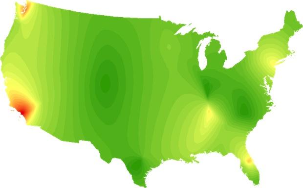 Pop map