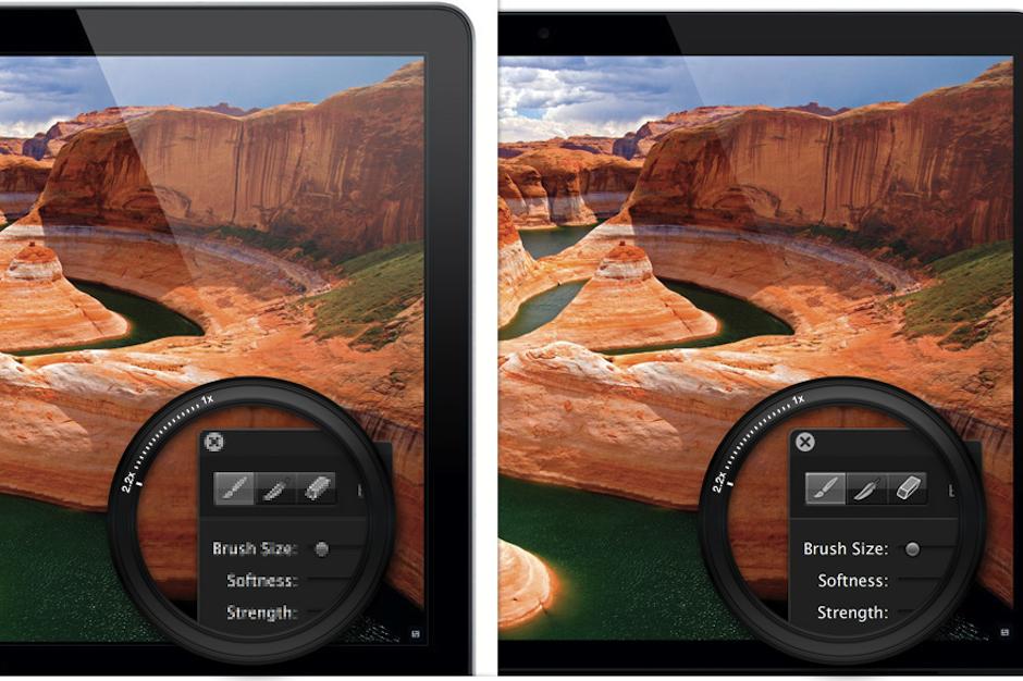 Retina screen comparison