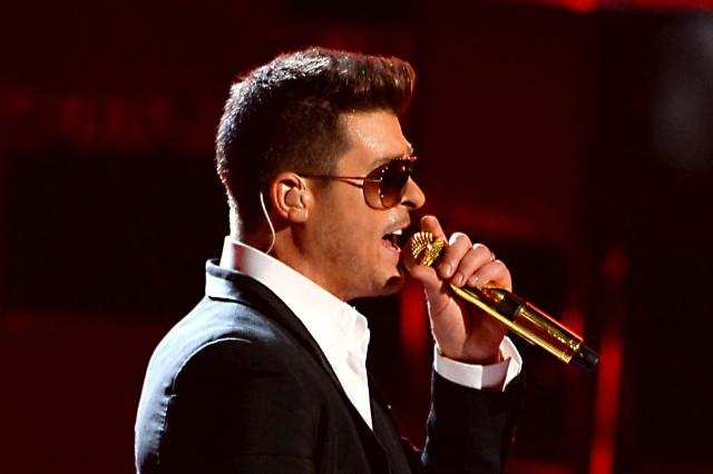 Robin Thicke good life blurred lines