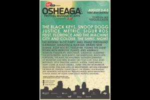 Osheaga 2012 Lineup