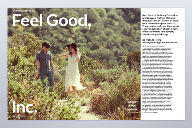 Best Coast/Wavves in SPIN's July/August Issue