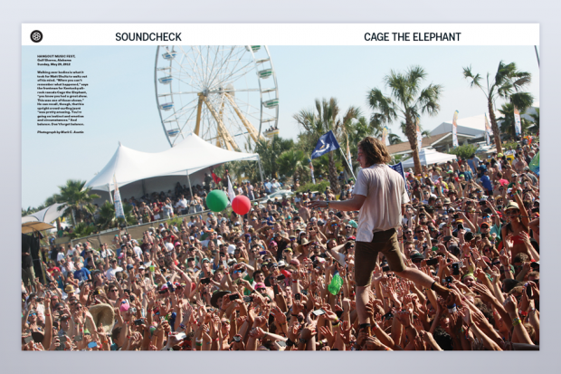Cage the Elephant in SPIN's July/August Issue