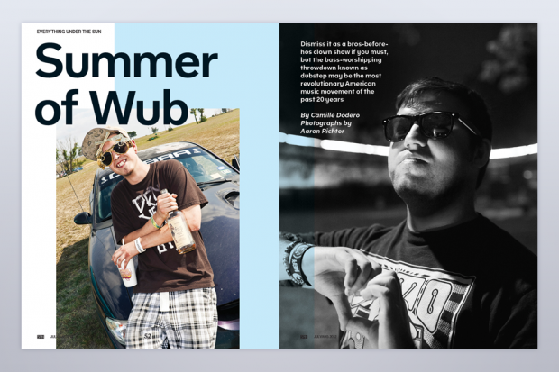 Summer of Wub in SPIN's July/August Issue