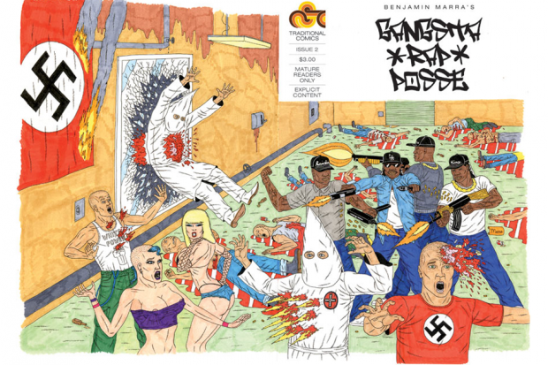 'Gangsta Rap Posse' #2 cover