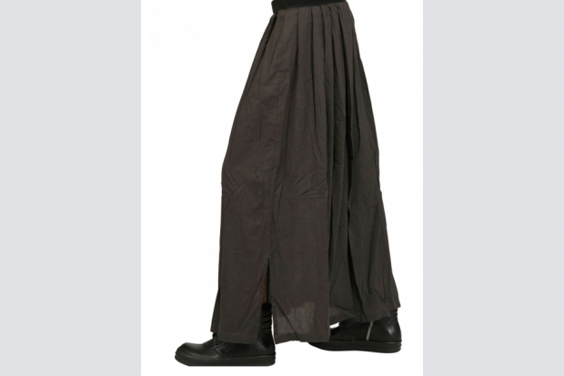 Silent by Damir Doma's Viscose Canvas Pleated Skirt
