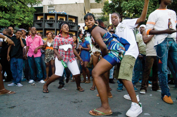 The Dutty Fridaze street party in 2006 / Photo by Julian Thomann