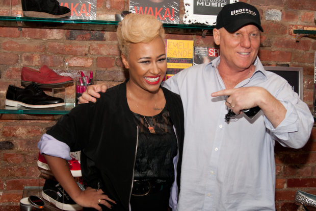 Emeli Sandé and Steve Madden  / Photo by Photo by Andrew St. Clair