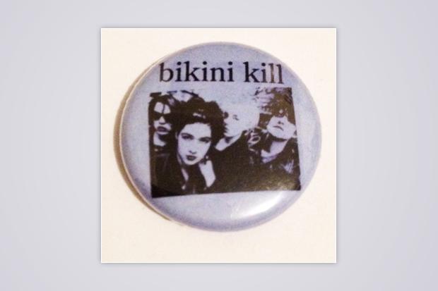Bikini Kill button