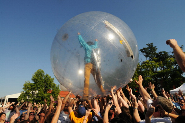 Wayne Coyne during the O Music awards in Memphis / Photo by Greg Campbell/Getty