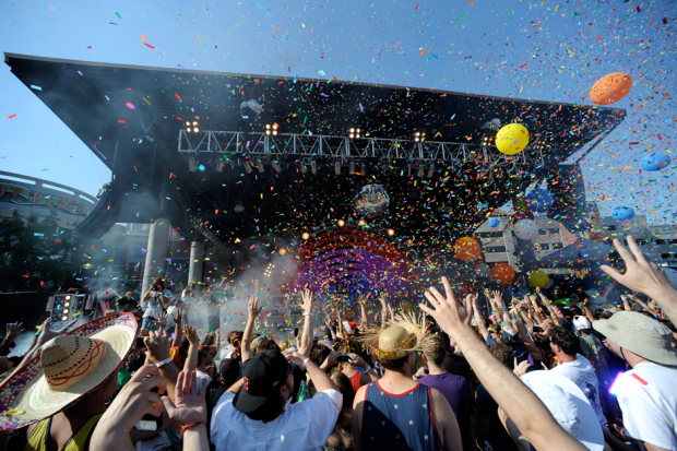 The Flaming Lips perform at the O Music Awards / Photo by Greg Campbell/Getty