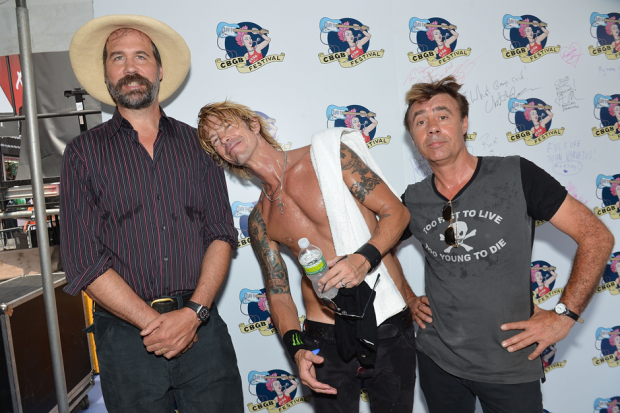 Krist Novoselic with Duff McKagan and Glen Matlock / Photo by Getty Images