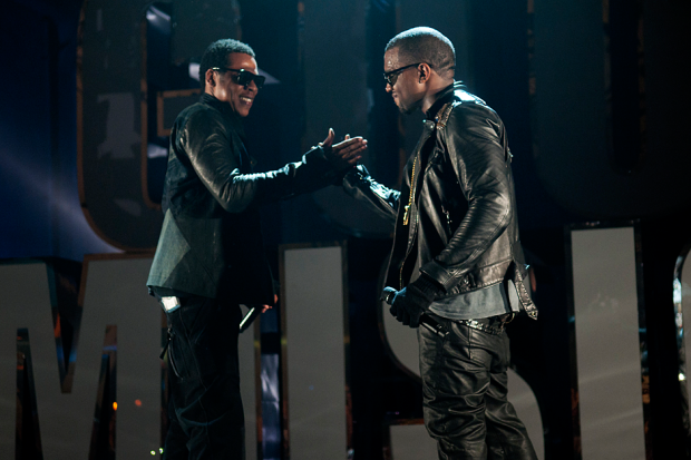 Jay-Z and Kanye West / Photo by Getty Images